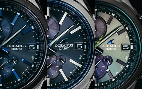 "2021.4.28 Functional Beauty ""OCW-T4000"" OCEANUSの新生スタンダード"